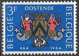 Belgium SG1889 1964 Millenary Of Ostend 3f Mounted Mint [33/28704/6D] - Belgium