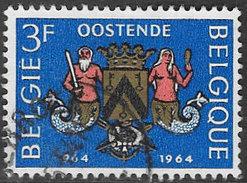 Belgium SG1889 1964 Millenary Of Ostend 3f Good/fine Used [33/28705/6D] - Belgium