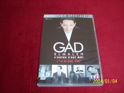 GAD ELMALEH  L'AUTRE C'EST MOI  DOUBLE DVD - Historia