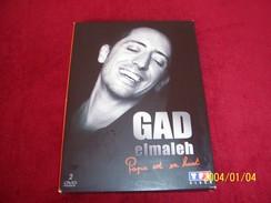 GAD ELMALEH   PAPA EST EN HAUT   DOUBLE DVD - Historia