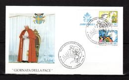 1996 : PAPE JEAN PAUL II  / JOURNEE DE LA PAIX / Pope John Paul II Jonas Paulius II Papa Giovanni Paolo II - Papes