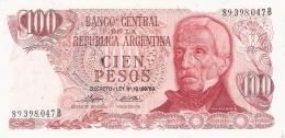 ARGENTINE   100 Pesos   ND (1973-76)   P. 297   UNC - Argentina