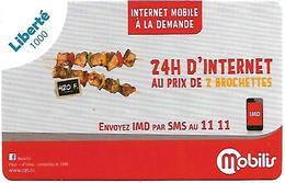 @+ Nouvelle Calédonie - Recharge Liberté 1000 Fr - 31/12/2018 - 24 Heures D'Internet Mobilis