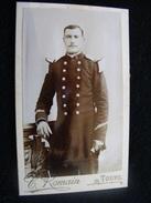 Photographie Originale Cdv Officier Du 9è     --- Photographe Romain à Tours     CDV6 - Photographs