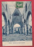 Wiers - Intérieur De L'Eglise Incendiée - 1913 ( Voir Verso ) - Péruwelz
