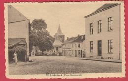Linkebeek - Place Communale / Stadsplein - 1942 ( Verso Zien ) - Linkebeek