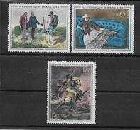 FRANCE 1962 Tableaux De Maitres  YT 1363/1365 NEUF** Sans Charnière  C. 2017 = 12 Euros // VENTE MULTI¨PLE - France