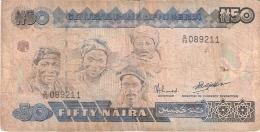 NIGERIA   50 Naira   ND (1991-)   Sign.9   P. 27b - Nigeria
