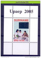 Ndr1340 UPAEP U.P.A.E.P. ONDERWIJS BESTRIJDING ARMOEDE EDUCATION FIGHT POVERTY BEKÄMPFUNG DER ARMUT SURINAME 2005 PF/MNH