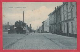 Landen - Place De La Gare / Statieplaats - 1910  ( Verso Zien ) - Landen