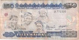 NIGERIA   50 Naira   ND (1991-)   Sign.10   P. 27c - Nigeria
