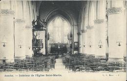 Assche.  -   Intérieur De L'Eglise Saint-Martin