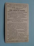 DP Arthur-Aalbrecht DE VLIEGHERE ( De Vliegher ) Thielt 21 Aug 1874 - Gent 29 Sept 1924 ( Zie Foto´s) ! - Religion & Esotérisme