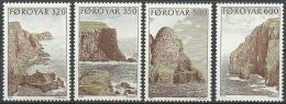 FÄRÖER 1989 MI-NR. 190/93 ** MNH - Féroé (Iles)