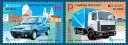 Belarus 2013 Mih. 950/51 Europa-Cept. Postal Vehicles MNH ** - Belarus