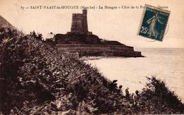 SAINT VAAST LA HOUGUE -50- LA HOUGUE COTE DE LA PORTE AUX DAMES - Saint Vaast La Hougue