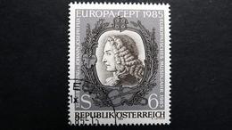 Österreich 1811 Oo/used, EUROPA/CEPT 1985, Europäisches Jahr Der Musik - 1981-90 Used