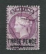 ST.HELENA 1864-73 - Queen Victoria - Three Pence/Six Pence -  Mi:SH 7c - Isola Di Sant'Elena