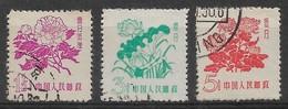 CHINE 1959 - Timbres N°1205 à N°1207 (3 Valeurs) - Oblitérés - 1949 - ... République Populaire
