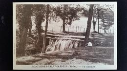 CPA D69 Fontaines St Martin Cascade - Autres Communes