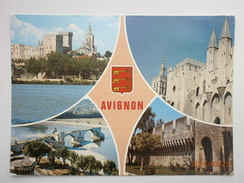 Postcard Avignon Multiview My Ref B2742 - Avignon