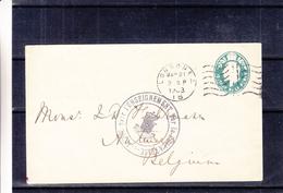 Grande Bretagne - Entier Postal De 1903 - Oblit London EC - Cachet Belge Ligue Pour L'enseignement Par La Philatélie - Interi Postali