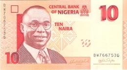 NIGERIA   10 Naira   2006   P. 33a   UNC - Nigeria