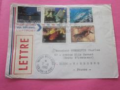 TAHITI  ÎLE DE RAITERA UTUROA Océanie Nouvelle-Calédonie- Lettre & Timbre Collection-N°58-100-101 & Tbre Neuf ** 20f - Nouvelle-Calédonie