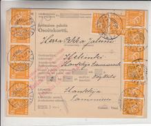 Finlande - Document De 1930 - Oblit Tammisuo - Exp Vers Helsinki - Voir Cachet Rouge