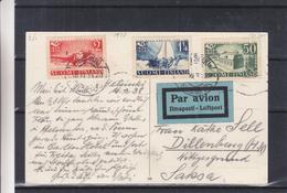Finlande - Carte Postale De 1938 - Oblit Helsinki - Avions - Bateaux -