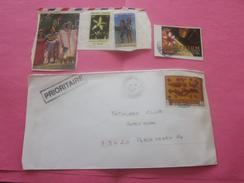 TAHITI NOUMÉA   OUEGDA Océanie Nouvelle-Calédonie Lettre & Timbre Collection & Timbres OB Sur Fragment -   Voir - New Caledonia