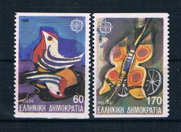 Griechenland 1989 Europa/Cept Mi.Nr. 1721/22 C Kpl. Satz ** - Greece