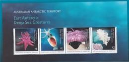 Australian Antarctic Territory 2017 East Antarctic Deep Sea Creatures Miniature Sheet MNH - Australian Antarctic Territory (AAT)
