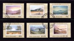 New Zealand 1988 Heritage - The Land Set Of 6 Used - New Zealand