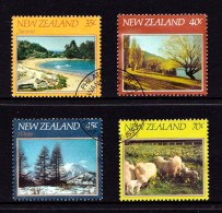 New Zealand 1982 The Four Seasons Set Of 4 Used - Used Stamps