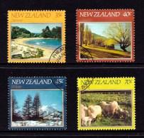 New Zealand 1982 The Four Seasons Set Of 4 Used - New Zealand