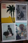 EGYPT. LEBANON. SYRIA. 9 Art Postcards From Soviet Set. 1956 Rare - Siria