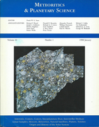 Meteoritics & Planetary Science Volume 33, Number 1, 1998 January (Meteorite) - Astronomie