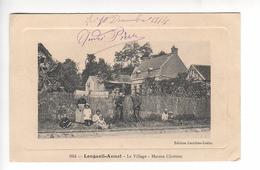 (n°472) CPA 60 LONGUEIL ANNEL Le Village Maison Chrétien  Texte Interessant Parlant De La Maison  1914 - Longueil Annel
