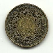 1951 - Marocco 50 Francs, - Marocco