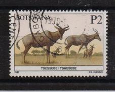 Botswana 1987, P2 Animals, Minr 420, Vfu. Cv 5,50 Euro - Botswana (1966-...)