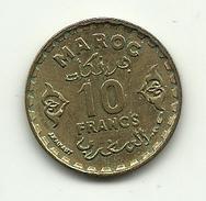 1951 - Marocco 10 Francs, - Marocco