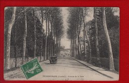 1 Cpa  Peyrehorade Avenue De La Gare - Peyrehorade