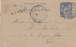 CARTE LETTRE / 3 - Postmark Collection (Covers)