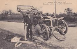 Circuit De La Sarthe 1906/Les Petites Misères Du Chauffeur:La Crevaison/ Réf:C4943 - Non Classés