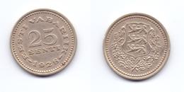 Estonia 25 Senti 1928 - Estonie