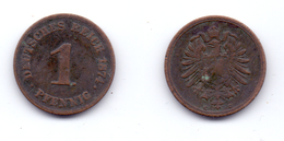 Germany 1 Pfennig 1874 C