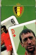 Jeu De Cartes Officiel Des Diables Rouges Officieel Kaartspel Rode Duivels (vers 1995/2000) - 54 Cartes