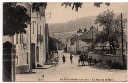Blaisy Bas : La Rue De La Gare (Louys Et Bauer, Dijon) - France