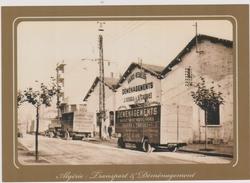 Entrepots Des Transports Corse Serra & Taddéi , Bld Thiers  Alger Camions Et Remorques - Other Cities